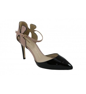 Bronx soft patent black pump