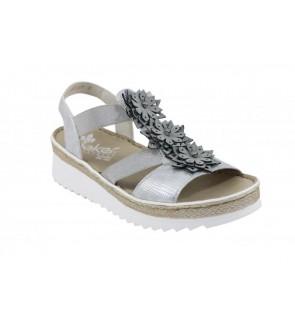 Rieker alce grey sandaal