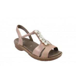 Ara laminacalf puder sandaal