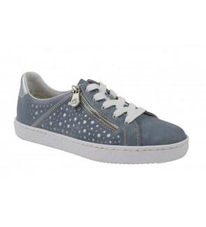 Rieker blue sneaker