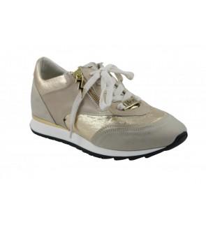 DL Sport nabuk tortora sneaker