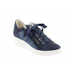 DL Sport nabuk navy sneaker