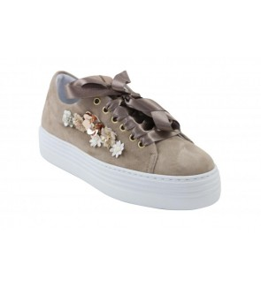 Alpe ante taupe sneaker
