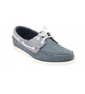 Sebago spinnaker navy/grey