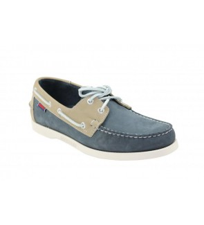 Sebago spinnaker blue grey...