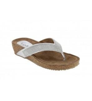Lazamani zilver slipper