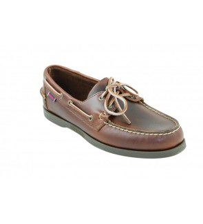 Sebago docksides brown...