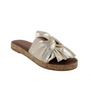 Inuovo gold slipper