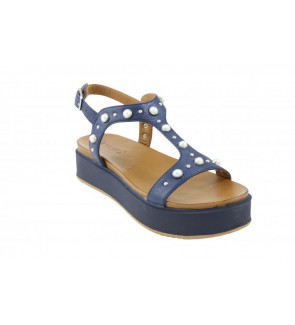 Inuovo navy sandaal