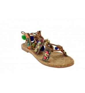Lazamani tan sandaal