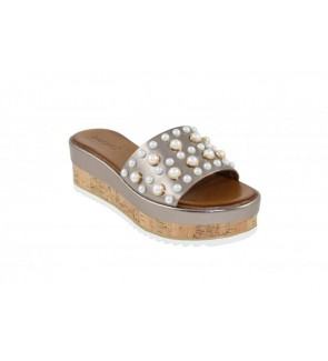 Inuovo pewter slipper