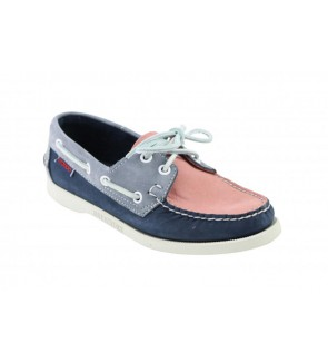 Sebago pin navy docksides