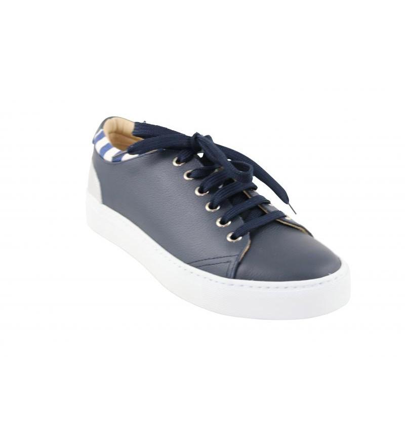 b8b9c3ba5a9 Maimai edwy vienna blu sneaker