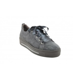 Softwaves velour grey sneaker