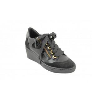 DL sport velour nero sneaker