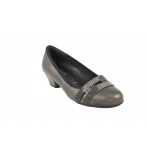 Gabor tower perl grey pump...