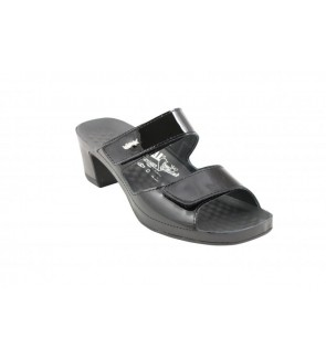 Vital joy lack schwarz slipper
