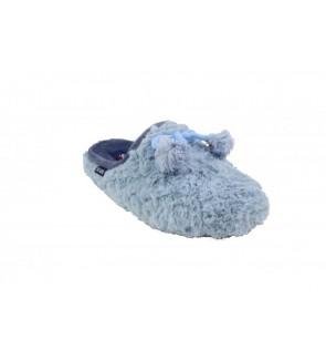 Scapa lichtblauwe pantoffel