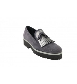 J-hay grey diamante slip on