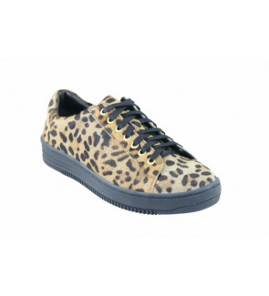 Lazamani leopard sneaker