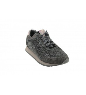 Alma&pena combi black sneaker