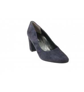 Paul green samtziege blau pump