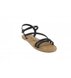Tamaris black glam sandaal...