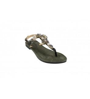 Lazamani black sandaal -...