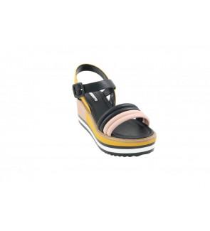 Gaudi baby rose black sandaal