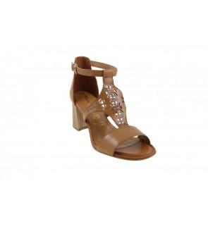 Tamaris cognac sandaal