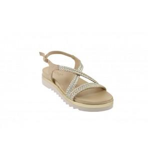 Inuovo beige tressé sandaal...