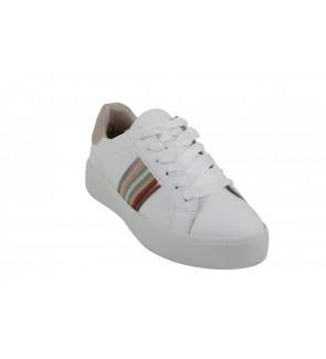 Tamaris white combi sneaker...