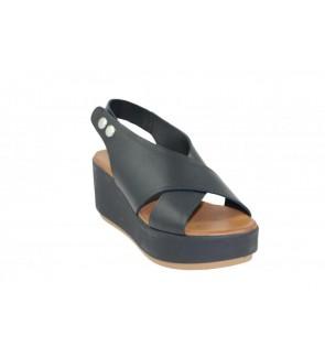 Inuovo black sandal - 123031