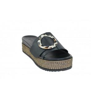 Inuovo black slipper - 431004