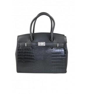 Zwarte handtas in...