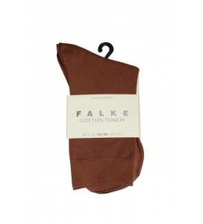 Falke cotton touch cognac...