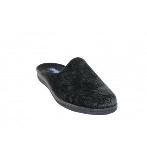 Belizia zwarte pantoffel -...