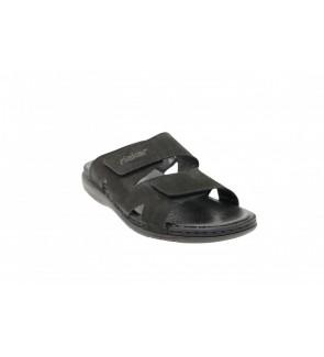 Rieker black slipper - 25593