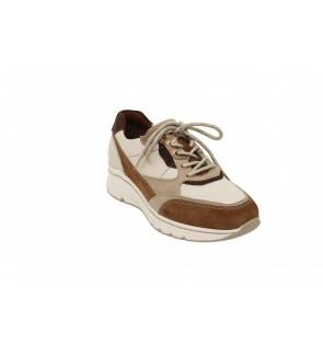 Tamaris cream combi sneaker...