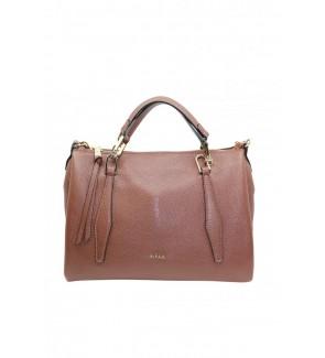 Ripani leather bag brown...
